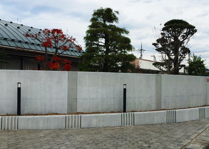 コンクリート塀塗装:建築塗装