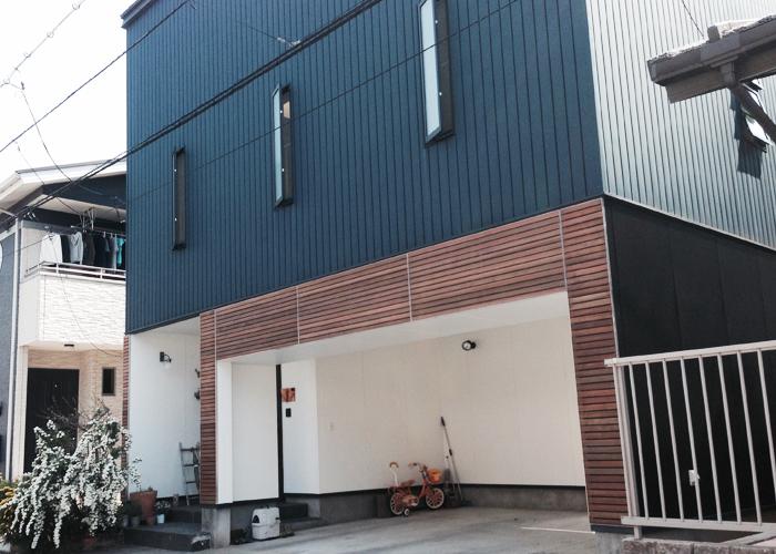 外壁デザイン:リフォーム工事